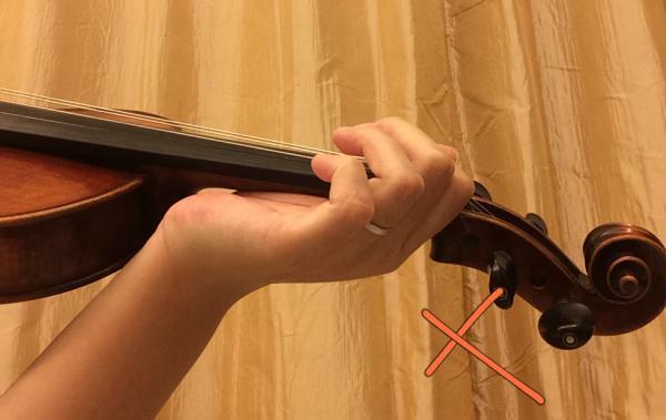 小提琴指法练习的注意事项