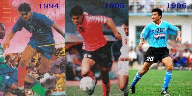 中国足球历史8大高中锋 哪一个都比现在国足前