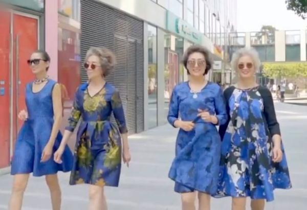 实时热点-中国时髦奶奶惊艳巴黎!(3)