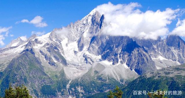 坐落于欧洲屋脊阿尔卑斯山最高峰--霞慕尼