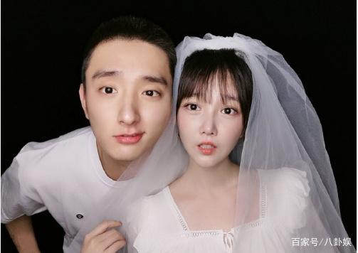 向海陆求婚,与陈小纭拍结婚照,官宣恋情便综艺