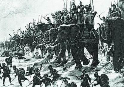 草原皇帝成吉思汗,为何不打印度?传说是怕大怪