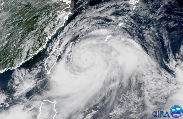 利奇马加强为超台 台风预警升级为橙色 将携强风暴雨而至
