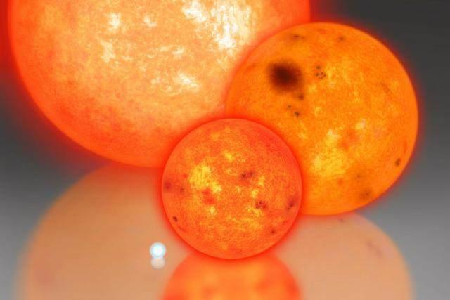 宇宙中已知体积天体中最大的恒星有多大呢?