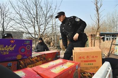 網絡販賣煙花爆竹 兩名嫌疑人被行政拘留