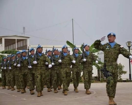 两个跟中国打过仗的国家,因为维和出现在同一