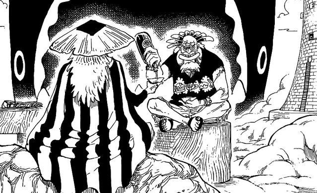 海贼王904:将登场和之国的4个友军,1位皇副,1位实力比大将绿牛强