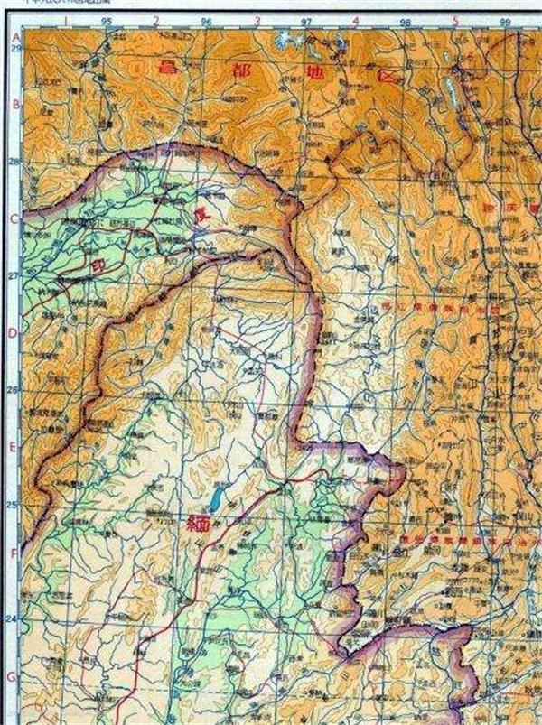 中国用27000平方公里领土与缅甸交换土地,究