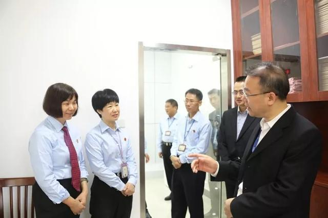 惠州中院院长胡鹰到惠城区法院调研