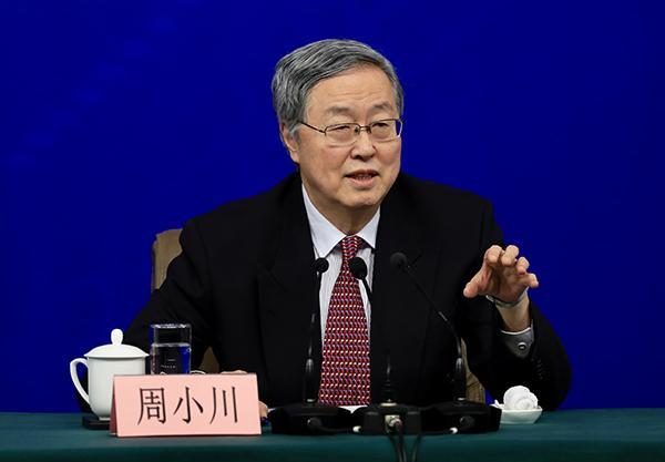 周小川:中國會減少依靠資金支持的增長,資金運用會更有效率