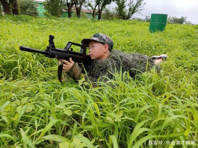 中合育才军事将帅军事夏令营第五期圆满结营