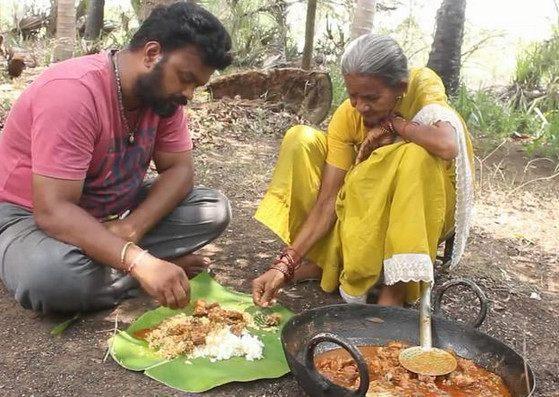 印度人煮羊肉里面加这种东西 这颜色看着就好