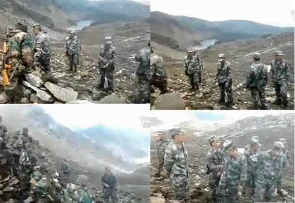港媒披露中印洞朗对峙现状:士兵怒目而视 枪口