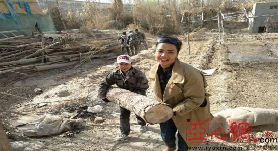 新疆和田下沉幹部心繫群眾 為民解憂