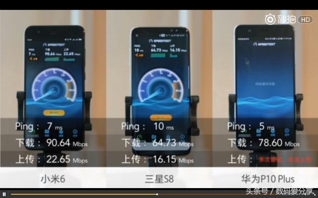 哪家安卓旗舰wifi信号最稳定?三星S8、华为P1