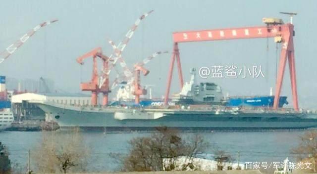 沒爭議了 首艘國產航母4月海試 17號山東艦是中國第一艘戰鬥航母